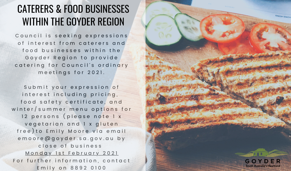 Caterers & Food Businesses